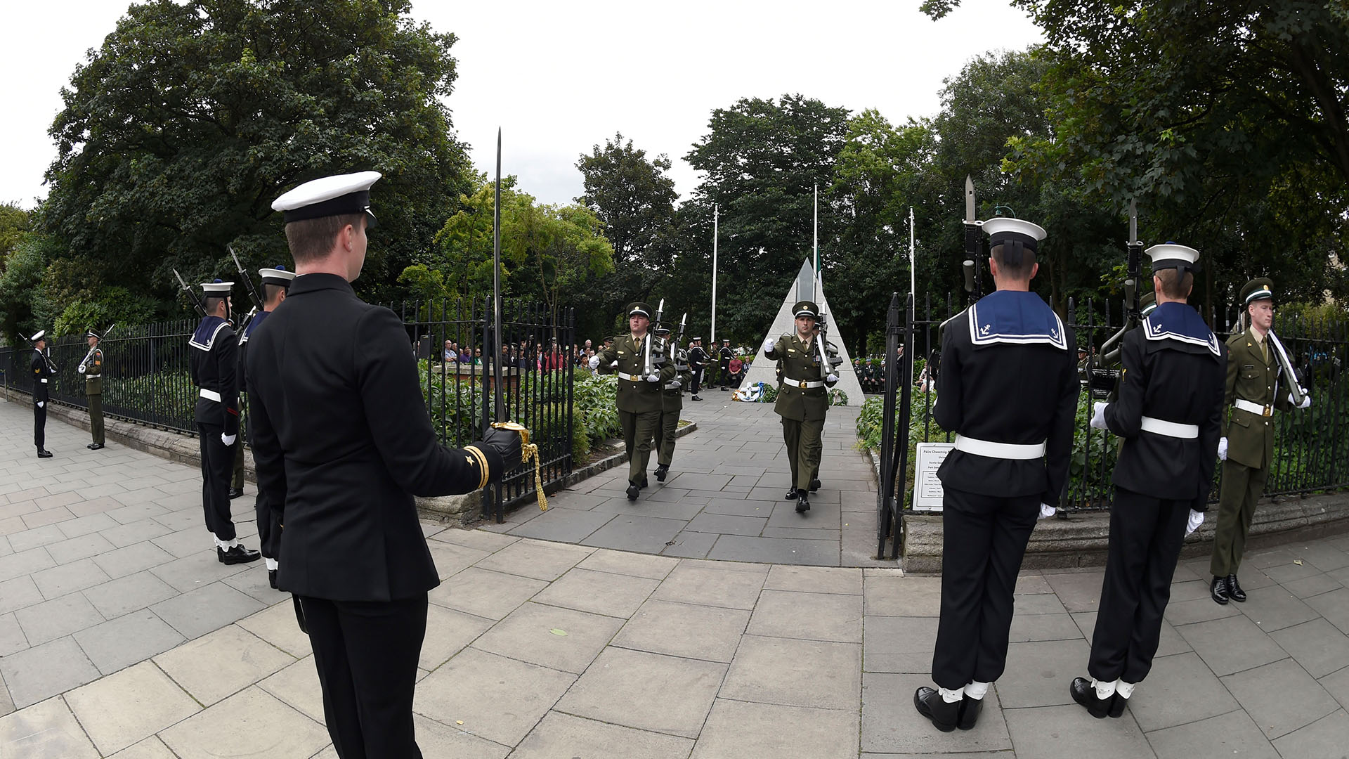 Commemoration Merrion Square