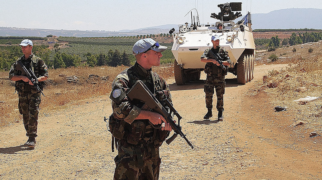 Irish Troops in UNIFIL