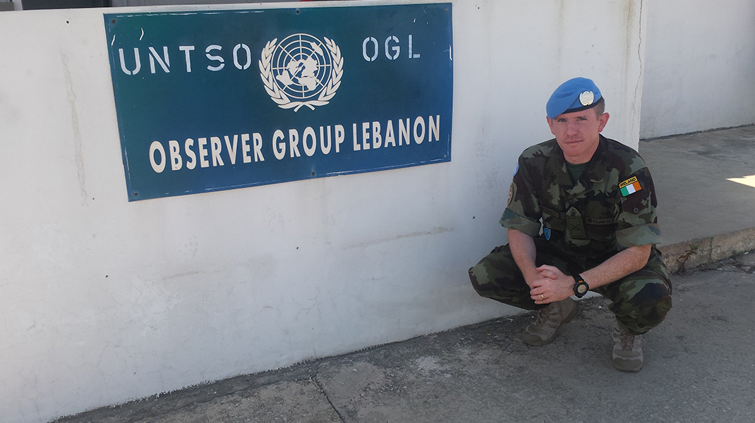 Irish Officer in UNTSO